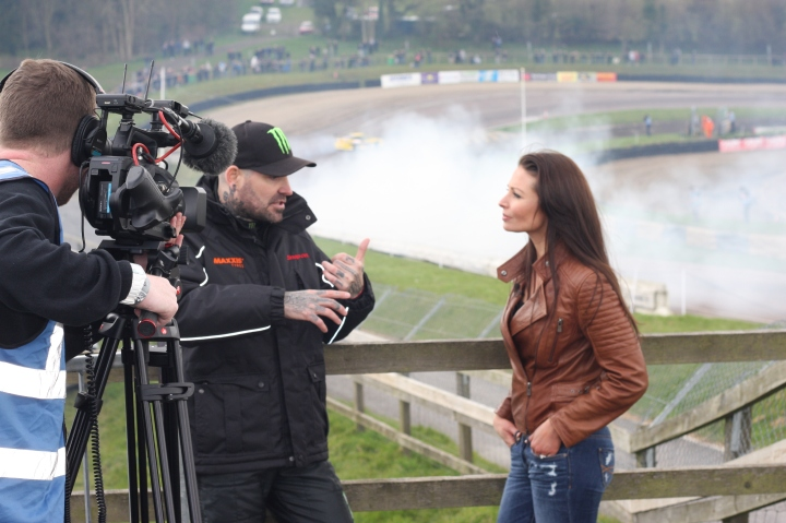 Interviewing British Drift car racer Shane Lynch