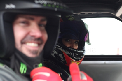 Torie Campbell and Shane Lynch at the British Drift Championships (BDC)
